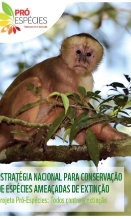 Folder Projeto Pró-Espécies: Todos contra a extinção